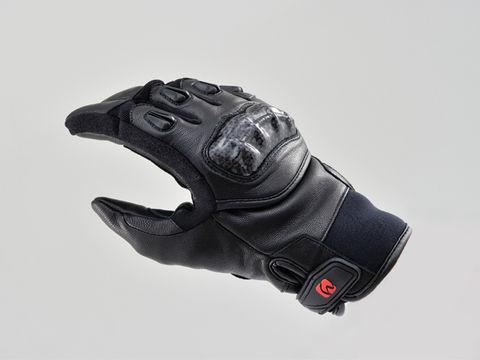 HBG-021 AWカーボンショートグローブ ブラック