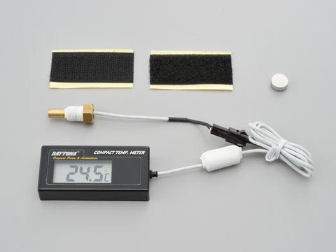 デジタルコンパクトテンプメーター(水温計) -19.5℃~99.9℃