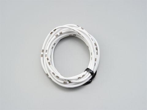 純正色ハーネス AVS0.75 (白)