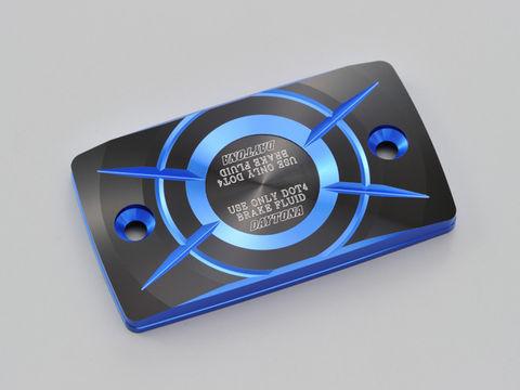 PREMIUM ZONE 角型マスターシリンダーキャップ SUZUKI-E ブルー