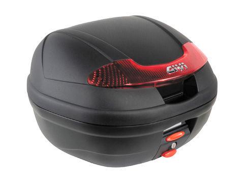 GIVI 【E340N】E340 VISION <34L>未塗装ブラック