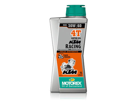 MOTOREX KTM RACING 4T 【20W60】
