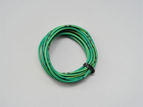 純正色ハーネス AVS0.75 (緑/黄)