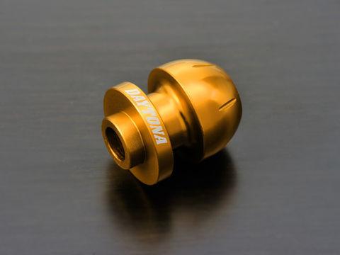 アルミビレットスイングアームスプール(BULLETタイプ) ゴールド M10用/2個入り