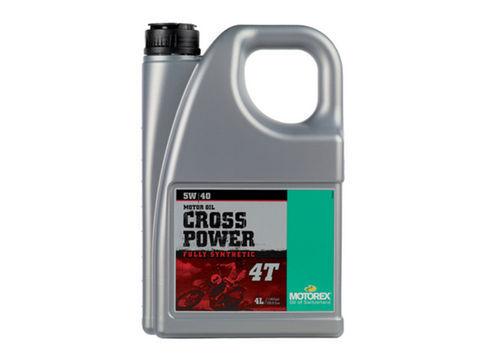 MOTOREX CROSS POWER 4T 【5W40】4L