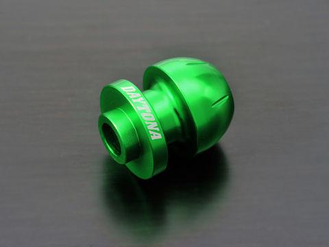アルミビレットスイングアームスプール(BULLETタイプ) グリーン M10用/2個入り