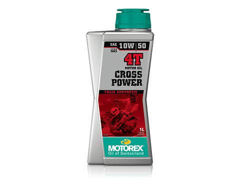 MOTOREX CROSS POWER 4T 【10W50】1L