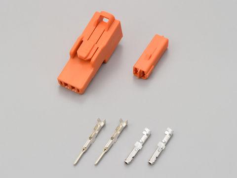 ウインカーコネクター<セット> オレンジ (ホンダ用)