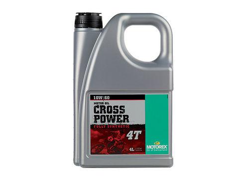 MOTOREX CROSS POWER 4T 【10W60】4L