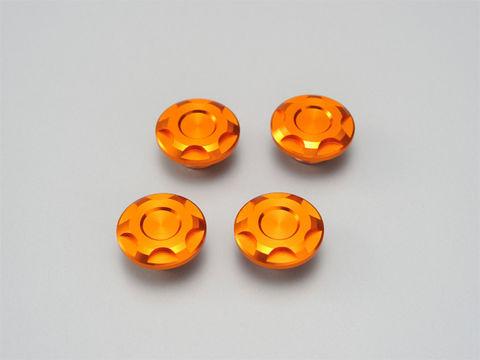 ドレスアップボルトキャップ【M6】オレンジ