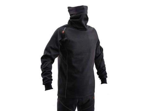 HBV-020 防風防寒インナー ネックウォームタイプ ブラック