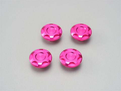 ドレスアップボルトキャップ【M6】ピンク