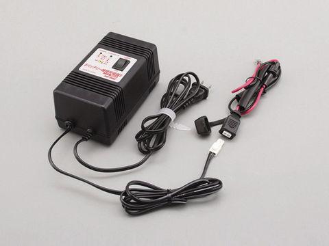 オートバイバッテリー用維持(微弱)充電器 12Vオートバイ用鉛バッテリー専用