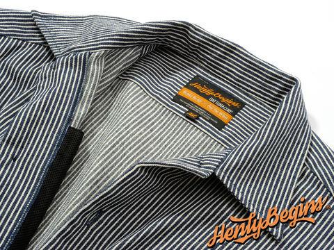 Henly Begins(ヘンリービギンズ)NHB1503 ワークシャツ