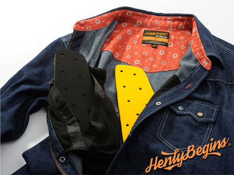 Henly Begins(ヘンリービギンズ)NHB1502 デニムシャツ