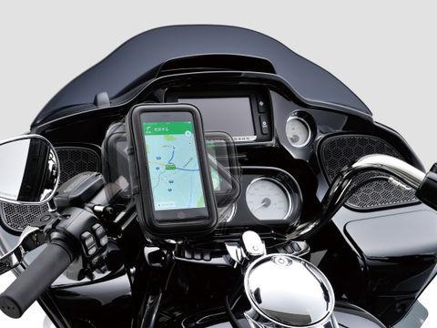 バイク用スマートフォンケース