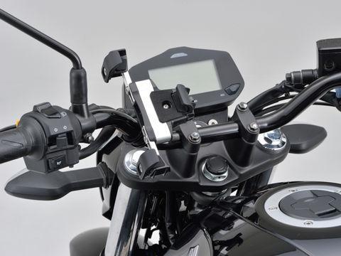 バイク用スマートフォンホルダー3