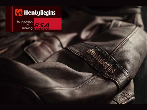 Henly Begins(ヘンリービギンズ)レザージャケット