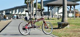DE01 折りたたみ電動アシスト自転車